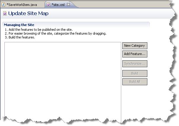 Update site settings