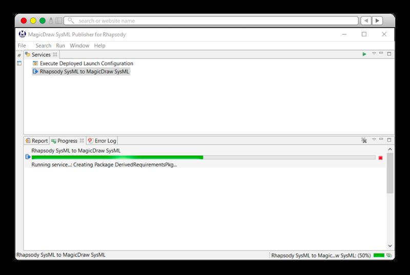 PublishGUIprogress-magicdraw-publisher-rhapsody-sodiuswillert-800x537px
