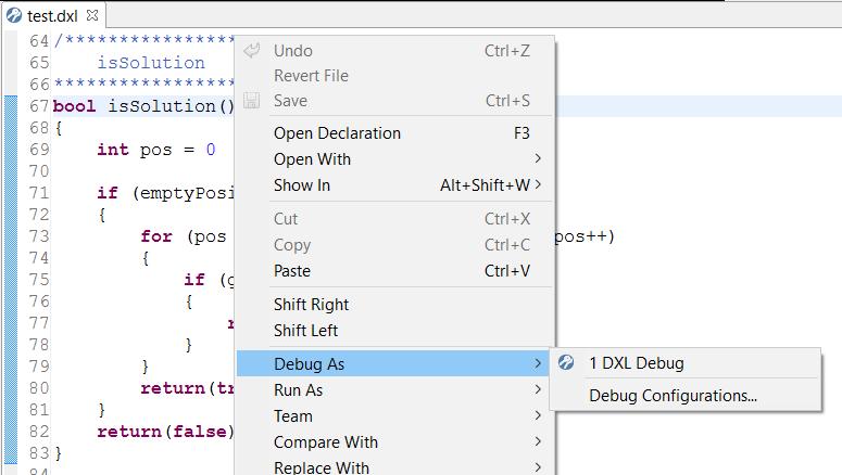 dxl Editor